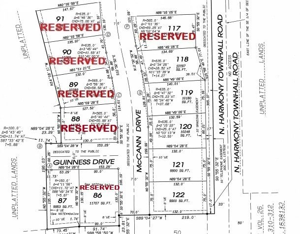 Plat-As-of-3-16 Emerald Estates Subdivision Plat