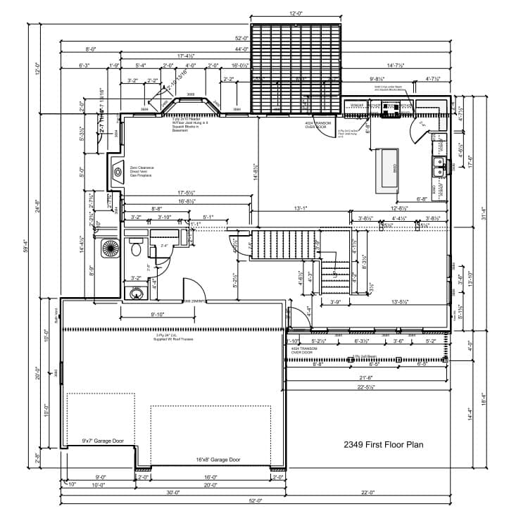 2349-1st-floor 2349 Sq Ft Floor Plan