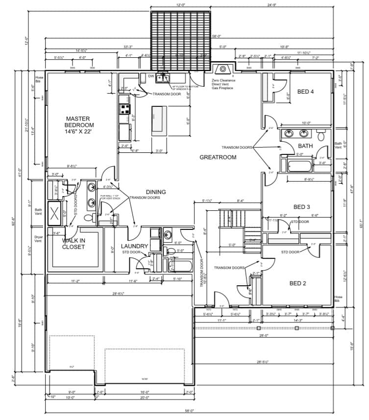 2580-floor-plan 2580 Sq Ft Plan