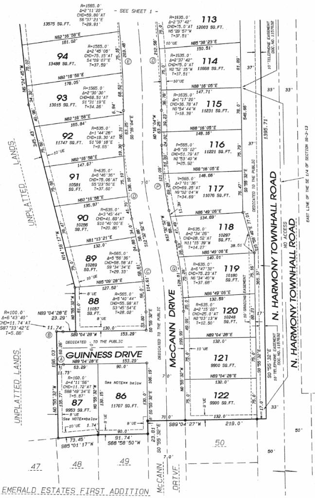 Emerald-Estates-Plat-1-648x1024 Emerald Estates Subdivision Plat